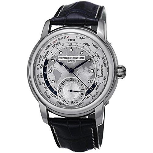 フレデリックコンスタント フレデリック・コンスタント 腕時計 メンズ 【送料無料】Men's Frederique Constant Manufacture Worldtimer Watch FC-718WM4H6フレデリックコンスタント フレデリック・コンスタント 腕時計 メンズ
