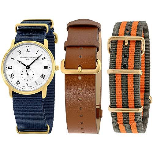 フレデリックコンスタント フレデリック・コンスタント 腕時計 メンズ Frederique Constant Slimline Quartz Movement Silver Dial Men's Watch FC-235M4S5-GROSET2フレデリックコンスタント フレデリック・コンスタント 腕時計 メンズ