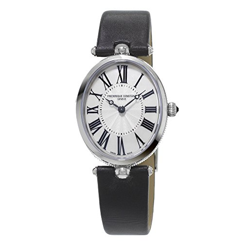 フレデリックコンスタント フレデリック・コンスタント 腕時計 レディース Ladies' Frederique Constant Classics Art Deco Satin Strap Watch FC-200MPW2V6フレデリックコンスタント フレデリック・コンスタント 腕時計 レディース