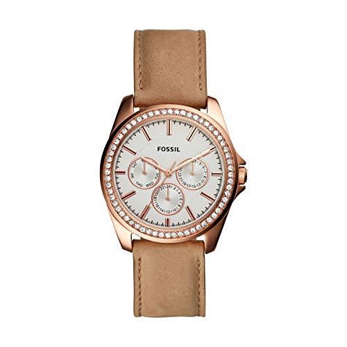 フォッシル 腕時計 レディース 【送料無料】Fossil Women's Janice Multifunction Tan Leather Watch BQ3382フォッシル 腕時計 レディース
