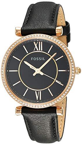 フォッシル 腕時計 レディース 【送料無料】Fossil Carlie - ES4507 Black One Sizeフォッシル 腕時計 レディース