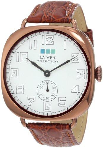 ラメールコレクションズ 腕時計 レディース LMOVW2030 La Mer Collections Women's LMOVW2030 Brown Copper Oversized Vintage Watchラメールコレクションズ 腕時計 レディース LMOVW2030