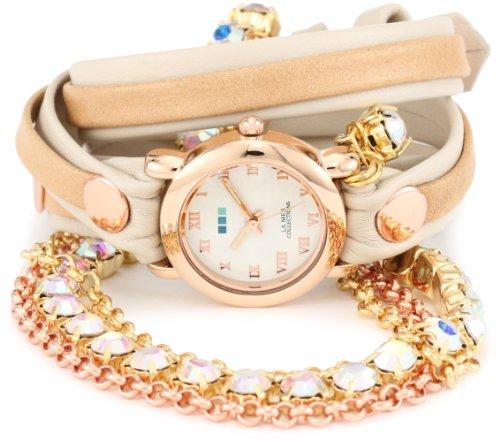 ラメールコレクションズ 腕時計 レディース LMMULTI5002RAIN La Mer Collections Women's LMMULTI5002RAIN Rainbow St. Tropez Chandelier Crystal Wrap Watchラメールコレクションズ 腕時計 レディース LMMULTI5002RAIN