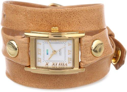 ラメールコレクションズ 腕時計 レディース LMSTW3007 La Mer Collections Women's LMSTW3007 Camel Gold Simple Wrap Watchラメールコレクションズ 腕時計 レディース LMSTW3007