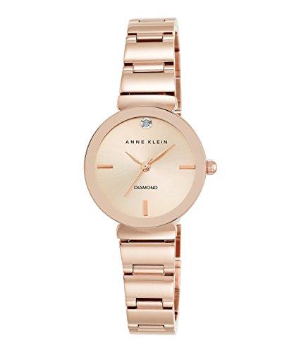 【即納】当店1年保証 アン・クライン Anne Klein レディース腕時計 AK/2434RGRG ローズゴールド ケース直径28mm