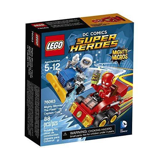 レゴ スーパーヒーローズ マーベル DCコミックス スーパーヒーローガールズ 6137838 【送料無料】LEGO DC Comics Super Heroes Mighty Micros: The Flash vs. Captain Cold (760レゴ スーパーヒーローズ マーベル DCコミックス スーパーヒーローガールズ 6137838
