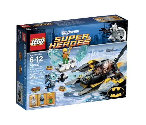 レゴ スーパーヒーローズ マーベル DCコミックス スーパーヒーローガールズ 6024697 【送料無料】LEGO Super Heroes Arctic Batman vs Mr Freeze 76000レゴ スーパーヒーローズ マーベル DCコミックス スーパーヒーローガールズ 6024697
