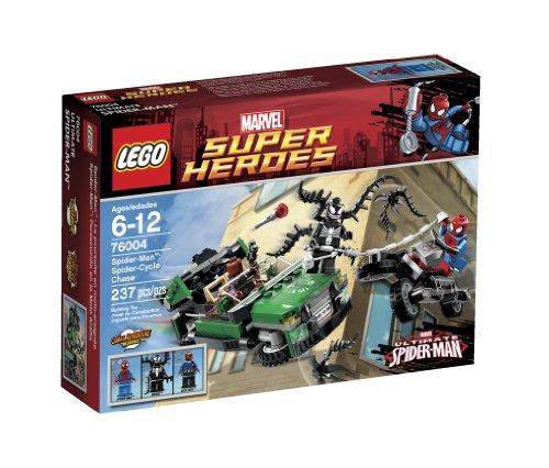 レゴ スーパーヒーローズ マーベル DCコミックス スーパーヒーローガールズ 6024705 LEGO Super Heroes Spider-Cycle Chase 76004 (Discontinued by manufacturer)レゴ スーパーヒーローズ マーベル DCコミックス スーパーヒーローガールズ 6024705