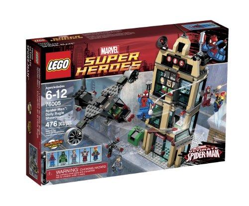 レゴ スーパーヒーローズ マーベル DCコミックス スーパーヒーローガールズ 6024707 LEGO Super Heroes Daily Bugle Showdown 76005レゴ スーパーヒーローズ マーベル DCコミックス スーパーヒーローガールズ 6024707