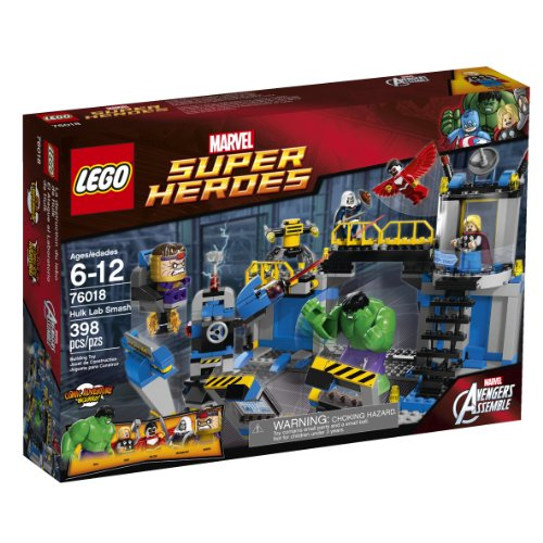 レゴ スーパーヒーローズ マーベル DCコミックス スーパーヒーローガールズ 6062398 【送料無料】LEGO Superheroes 76018 Hulk Lab Smashレゴ スーパーヒーローズ マーベル DCコミックス スーパーヒーローガールズ 6062398