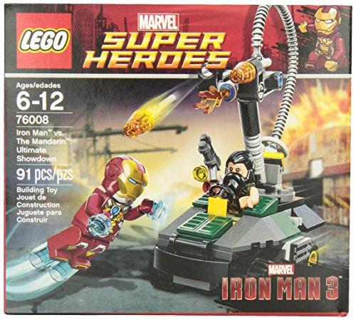 レゴ スーパーヒーローズ マーベル DCコミックス スーパーヒーローガールズ 6043538 LEGO Super Heroes Iron Man vs. The Mandarin Ultimate Showdown (76008)レゴ スーパーヒーローズ マーベル DCコミックス スーパーヒーローガールズ 6043538