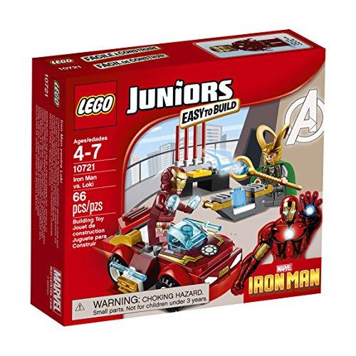 レゴ スーパーヒーローズ マーベル DCコミックス スーパーヒーローガールズ 6135740 LEGO Juniors Iron Man vs. Loki 10721レゴ スーパーヒーローズ マーベル DCコミックス スーパーヒーローガールズ 6135740