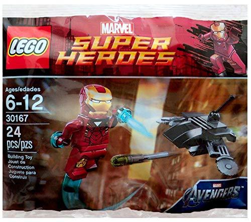 レゴ スーパーヒーローズ マーベル DCコミックス スーパーヒーローガールズ 30167 【送料無料】Lego Super Heroes Marvel Iron Man vs. Fighting Drone, Polybag # 30167レゴ スーパーヒーローズ マーベル DCコミックス スーパーヒーローガールズ 30167