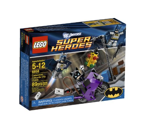 レゴ スーパーヒーローズ マーベル DCコミックス スーパーヒーローガールズ 4654638 【送料無料】LEGO Super Heroes Catwoman Catcycle City Chase 6858レゴ スーパーヒーローズ マーベル DCコミックス スーパーヒーローガールズ 4654638