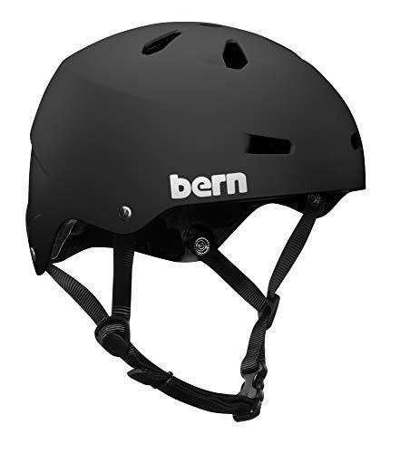 ヘルメット スケボー スケートボード 海外モデル 直輸入 VM2EMBKM Bern - Summer Team Macon EPS Helmet, Matte Black, Mediumヘルメット スケボー スケートボード 海外モデル 直輸入 VM2EMBKM