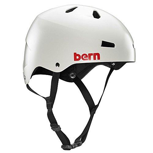 ヘルメット スケボー スケートボード 海外モデル 直輸入 Bern 【送料無料】Bern Macon Helmet - Closeout (Satin Light Grey, X-Large)ヘルメット スケボー スケートボード 海外モデル 直輸入 Bern