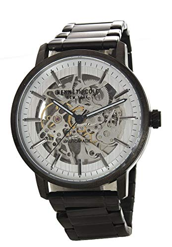 ケネスコール・ニューヨーク Kenneth Cole New York 腕時計 メンズ Kenneth Cole New York Men's Silver Dial Gunmetal Stainless Steel Automatic Watch KC50683004ケネスコール・ニューヨーク Kenneth Cole New York 腕時計 メンズ