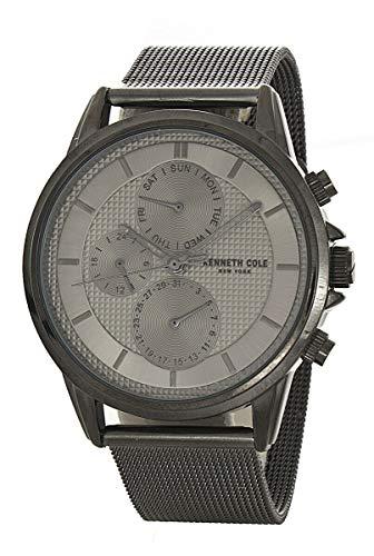 ケネスコール・ニューヨーク Kenneth Cole New York 腕時計 メンズ 【送料無料】Kenneth Cole New York Men's Grey Dial Grey Mesh Band Watch KC50687007ケネスコール・ニューヨーク Kenneth Cole New York 腕時計 メンズ