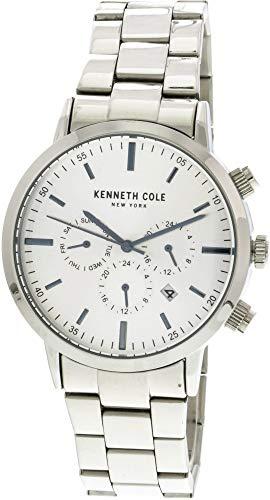 ケネスコール・ニューヨーク Kenneth Cole New York 腕時計 メンズ 【送料無料】Kenneth Cole Men's KC50228007 Silver Stainless-Steel Japanese Quartz Fashion Watchケネスコール・ニューヨーク Kenneth Cole New York 腕時計 メンズ