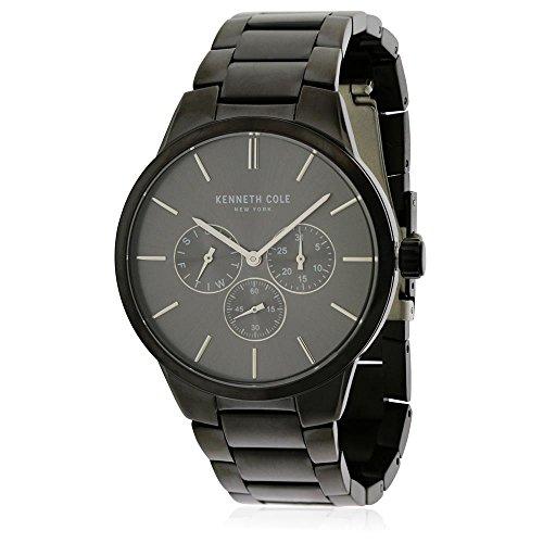 腕時計 ケネスコール・ニューヨーク Kenneth Cole New York メンズ 【送料無料】Kenneth Cole New York All-Black Calendar Watch - Stainless Steel腕時計 ケネスコール・ニューヨーク Kenneth Cole New York メンズ
