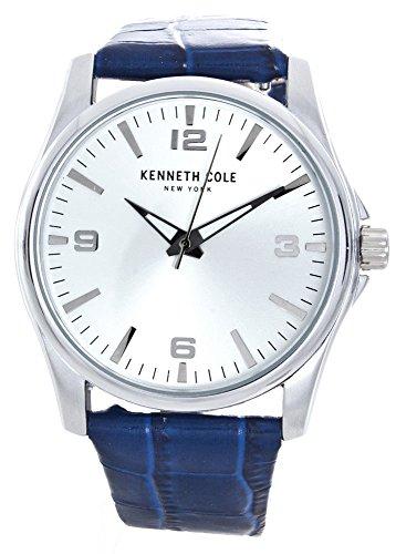 ケネスコール・ニューヨーク Kenneth Cole New York 腕時計 メンズ 【送料無料】Kenneth Cole New York Men's Silver Dial Two Leather Band Watch Set 10031383ケネスコール・ニューヨーク Kenneth Cole New York 腕時計 メンズ