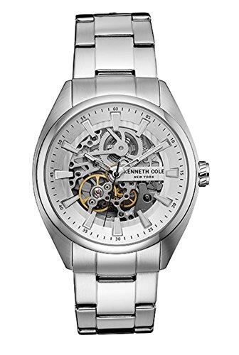 ケネスコール・ニューヨーク Kenneth Cole New York 腕時計 メンズ 【送料無料】Kenneth Cole Men's 10030833 Silver Stainless-Steel Quartz Fashion Watchケネスコール・ニューヨーク Kenneth Cole New York 腕時計 メンズ