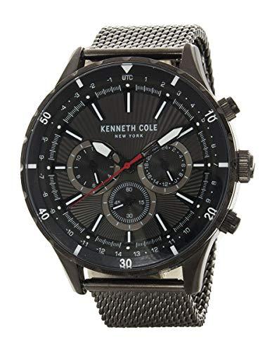 ケネスコール・ニューヨーク Kenneth Cole New York 腕時計 メンズ 【送料無料】Kenneth Cole New York Men's Black Dial Black Mesh Band Watch KC50840001ケネスコール・ニューヨーク Kenneth Cole New York 腕時計 メンズ