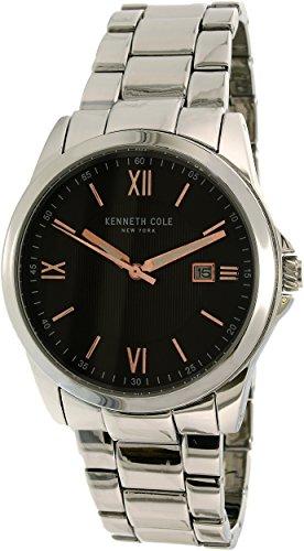 腕時計 ケネスコール・ニューヨーク Kenneth Cole New York メンズ 【送料無料】Kenneth Cole Men's 10031362 Silver Stainless-Steel Quartz Dress Watch腕時計 ケネスコール・ニューヨーク Kenneth Cole New York メンズ