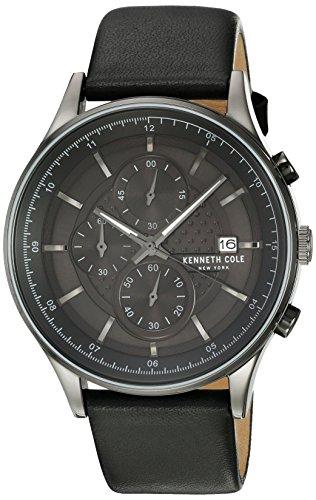 ケネスコール・ニューヨーク Kenneth Cole New York 腕時計 メンズ 【送料無料】Kenneth Cole New York Mens Uhr Watch Chronograh Leather KC15101002ケネスコール・ニューヨーク Kenneth Cole New York 腕時計 メンズ