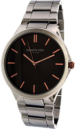 腕時計 ケネスコール・ニューヨーク Kenneth Cole New York メンズ 【送料無料】Kenneth Cole Men's 10031359 Silver Stainless-Steel Quartz Watch腕時計 ケネスコール・ニューヨーク Kenneth Cole New York メンズ