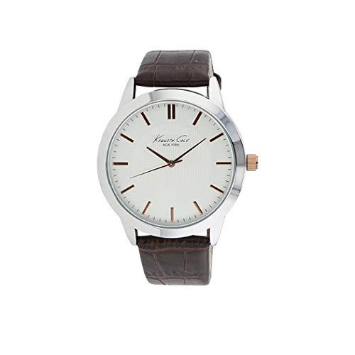 ケネスコール・ニューヨーク Kenneth Cole New York 腕時計 メンズ 【送料無料】Kenneth Cole New York Three-Hand Brown Leather Strap Men's Watch #10024818ケネスコール・ニューヨーク Kenneth Cole New York 腕時計 メンズ