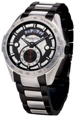 腕時計 ケネスコール・ニューヨーク Kenneth Cole New York メンズ 【送料無料】Kenneth Cole Men's Synthetic and Leather watch #KC3802腕時計 ケネスコール・ニューヨーク Kenneth Cole New York メンズ
