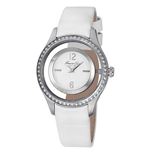 ケネスコール・ニューヨーク Kenneth Cole New York 腕時計 レディース 【送料無料】Kenneth Cole Women's Classic Watch - Whiteケネスコール・ニューヨーク Kenneth Cole New York 腕時計 レディース