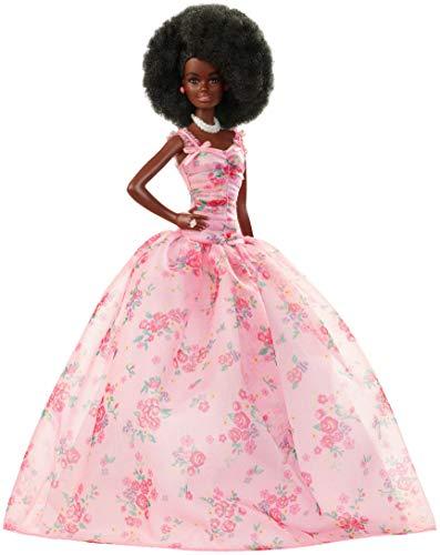 バービー バービー人形 日本未発売 【送料無料】Barbie Collector: Birthday Wishes Doll with Curly Brunette Hair, 11.5-Inch, Wearing Floral Gown, with Doll Stand and Certificate of Authenticity, Makes A Great Gift fバービー バービー人形 日本未発売