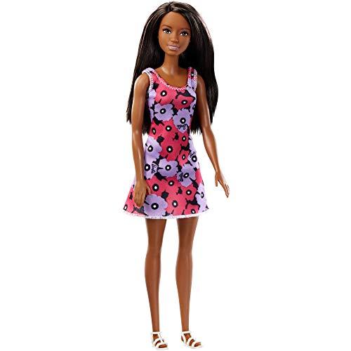 バービー バービー人形 日本未発売 Barbie African American Doll with Spring Dress Purple and Pink Flowersバービー バービー人形 日本未発売