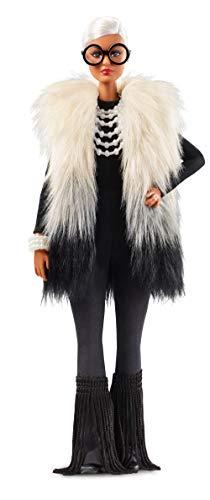 バービー バービー人形 【送料無料】?Barbie Styled by Iris Apfel Doll with Multi-Hued Vest, Fringed Bell Bottoms and Accessories??バービー バービー人形