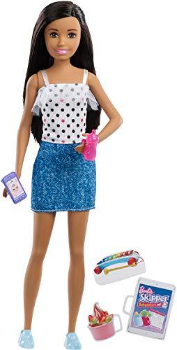 バービー バービー人形 日本未発売 Barbie Babysitting Skipper Doll, Black Hair, with Phone and Baby Bottleバービー バービー人形 日本未発売