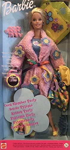 バービー バービー人形 日本未発売 【送料無料】Barbie Teen Slumber Party Doll (Like Pajamas Fun) with 'Magic' Date Ball & Lots More (1999 Multi-Lingual Box)バービー バービー人形 日本未発売