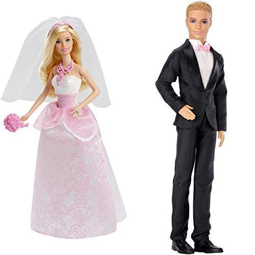 バービー バービー人形 【送料無料】Barbie Fairytale Bride Doll AND Barbie Fairytale Groom Dollバービー バービー人形