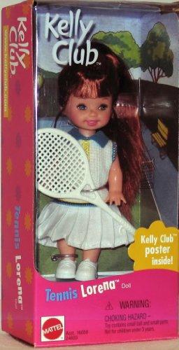 バービー バービー人形 日本未発売 【送料無料】Barbie Kelly TENNIS LORENA Doll (1999)バービー バービー人形 日本未発売