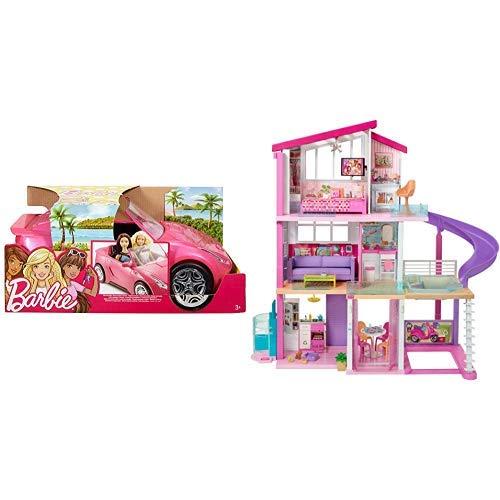 バービー バービー人形 日本未発売 Barbie Glam Convertible AND Barbie DreamHouseバービー バービー人形 日本未発売