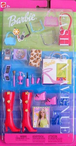 バービー バービー人形 日本未発売 【送料無料】Barbie FASHION AVENUE ACCESSORIES w Boots, Shoes, Purses, Cosmetics & MORE! (2000)バービー バービー人形 日本未発売