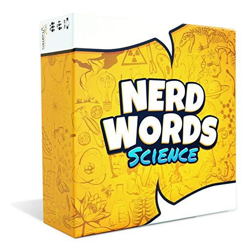 ボードゲーム 英語 アメリカ 海外ゲーム 【送料無料】Nerd Words: Science!ボードゲーム 英語 アメリカ 海外ゲーム