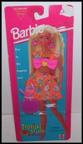 バービー バービー人形 日本未発売 Barbie Tropical Splash Doll Clothing Set with Flower Print Skirt, Bikini Top & Accessoriesバービー バービー人形 日本未発売