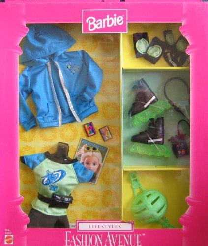 無料ラッピングでプレゼントや贈り物にも。逆輸入並行輸入送料込 バービー バービー人形 日本未発売 【送料無料】Barbie LIFESTYLES Fashion Avenue Collection - ROLLER BLADE (1999)バービー バービー人形 日本未発売