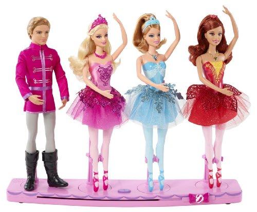 バービー バービー人形 【送料無料】Barbie in the Pink Shoes Dancing Stage 4 Dolls Land Of Sweetsバービー バービー人形