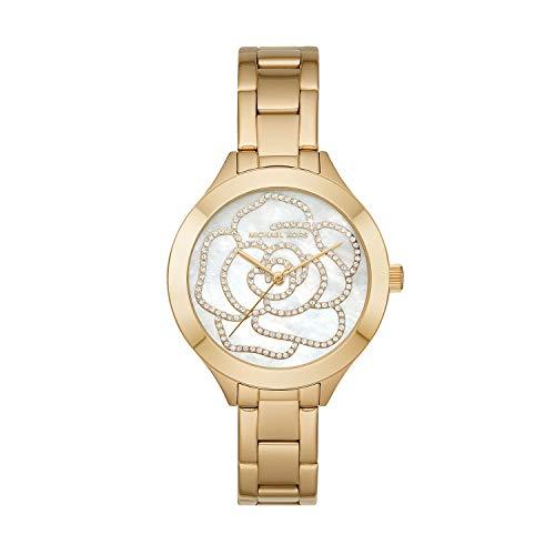 マイケルコース 腕時計 レディース 母の日特集 マイケル・コース 【送料無料】Michael Kors Women's Slim Runway Gold Tone Stainless Steel Watch MK3992マイケルコース 腕時計 レディース 母の日特集 マイケル・コース