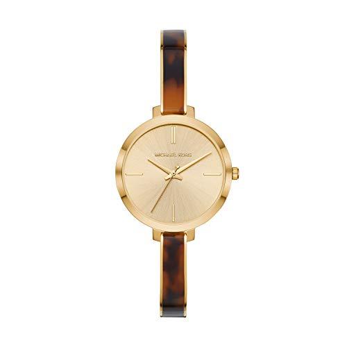 マイケルコース 腕時計 レディース マイケル・コース アメリカ直輸入 【送料無料】Michael Kors Women's Jaryn Quartz Watch with Stainless-Steel-Plated Strap, Gold/Multi, 8マイケルコース 腕時計 レディース マイケル・コース アメリカ直輸入