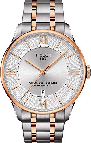 ティソ 腕時計 メンズ 【送料無料】Tissot Chemin des Tourelles Automatic Silver Dial Men's Watch T099.407.22.038.02ティソ 腕時計 メンズ