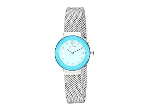 スカーゲン 腕時計 レディース 【送料無料】Skagen Women's Leonora Two-Hand Silver-Tone Stainless Steel Watch SKW2767スカーゲン 腕時計 レディース